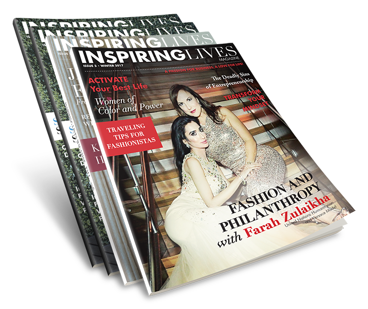 1-Year Online Viewing Subscription: Inspiring Lives Magazine subscription