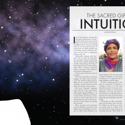 The Sacred Gift of Intuition