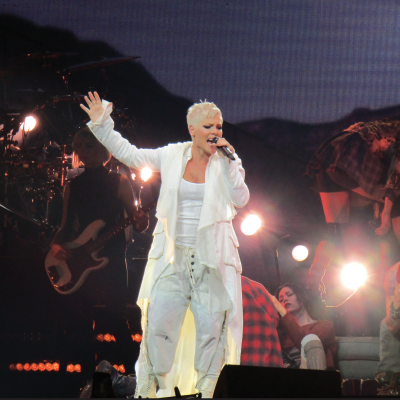 P!NK'S Concert, Pittsburgh, Pa., April 7, 2018