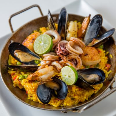 Fig and Olive _seafood_paella_3822