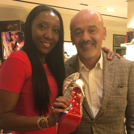 Shevelle in the City Christian Louboutin Fundraiser