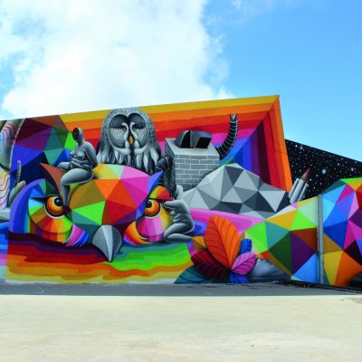Okuda Glazes the Gray