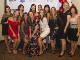 Inspiring Lives staff at awards