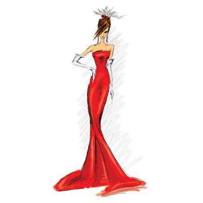 Well Behaved Women Seldom Wear Red