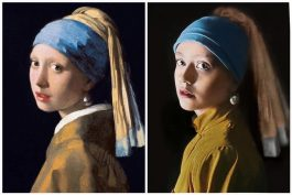 Classics Reimagined_Girl with a Pearl Earring_Vermeer
