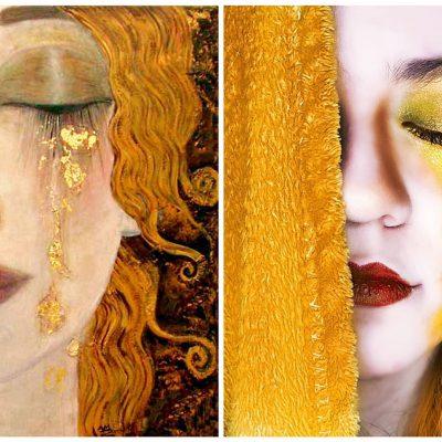 Classics Reimagined_Golden Tears_Klimt
