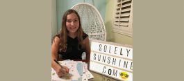 Teenage Girl is a Ray of Sunshine for the Mental Health Community