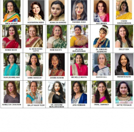 Tribute to 24 Incredible Women